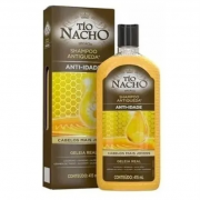 Tio Nacho Shampoo Anti-idade Geleia Real 415ml Orignal