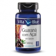 Vita Blue - Guaraná c/ Açaí 500mg c/ 60 caps