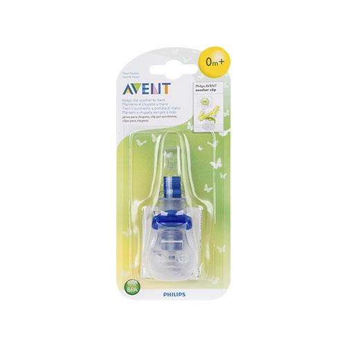 Avent - Clipe p/ Chupeta Azul