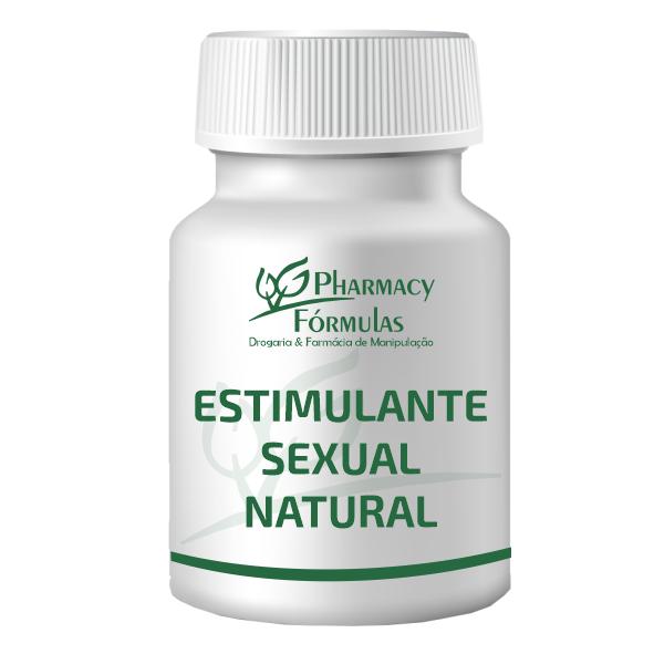 Estimulante Sexual Natural com 60 capsulas