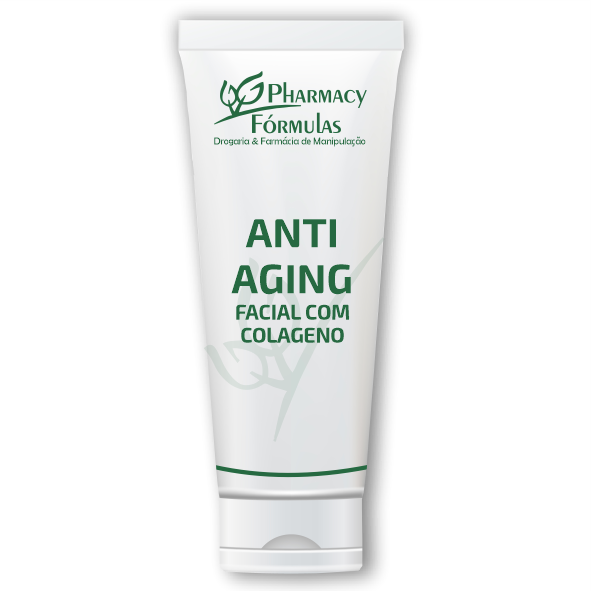 Loção Anti-Aging Facial com Colageno