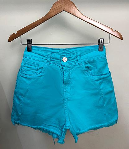 Shorts Sarja Colorido