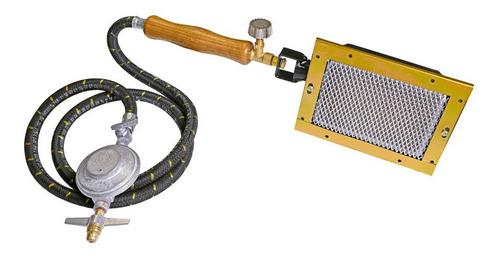 Pururucador Gratinador Gás - Mangueira E Registro 1200 Kcal
