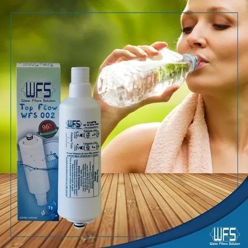 Refil Filtro De Água Top Flow Wfs002 Bebedouro Colormaq