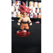 BONECO GOKU GOD I (DRAGON BALL)