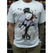 CAMISETA BTS BAND