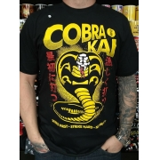 CAMISETA COBRA KAI CHEMICAL