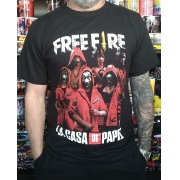 CAMISETA FREE FIRE LA CASA