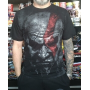CAMISETA GOD OF WAR FACE