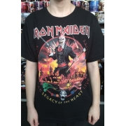 CAMISETA IRON MAIDEN LAGACY