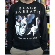CAMISETA  MANGA LONGA BLACK SABBATH HEAVEN