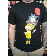 CAMISETA RICKY AND MORTY IT