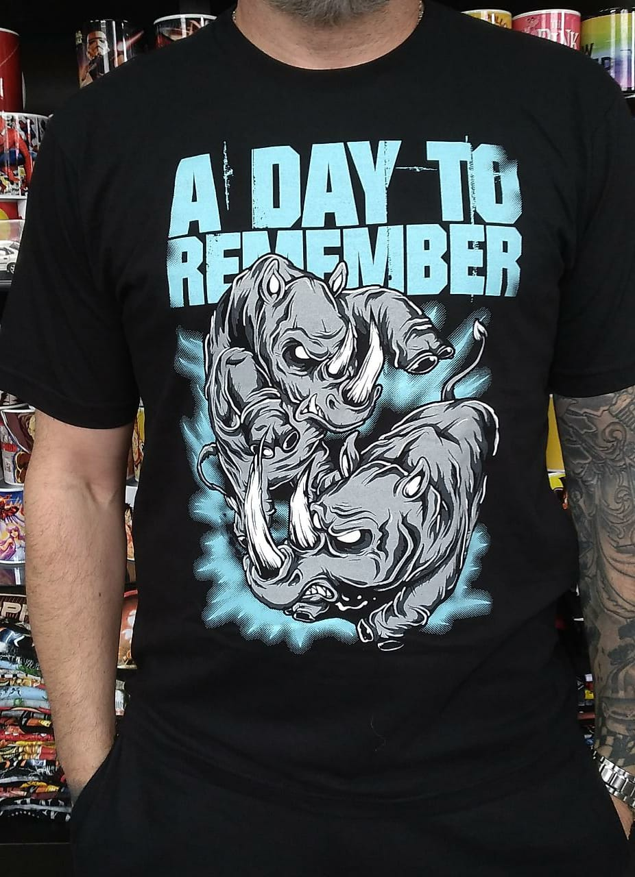CAMISETA A DAY TO REMEMBER