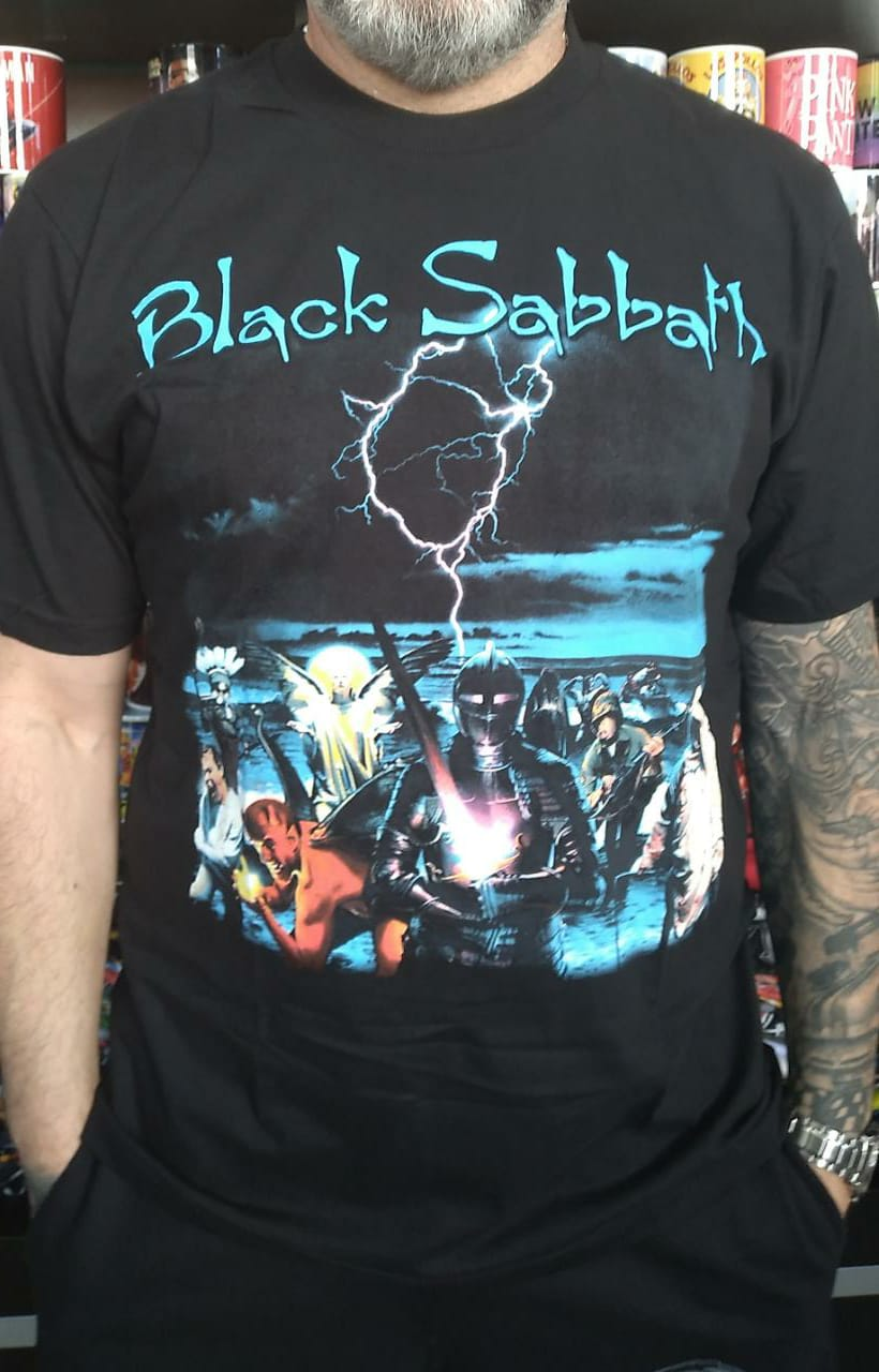 CAMISETA BLACK SABBATH LIVE