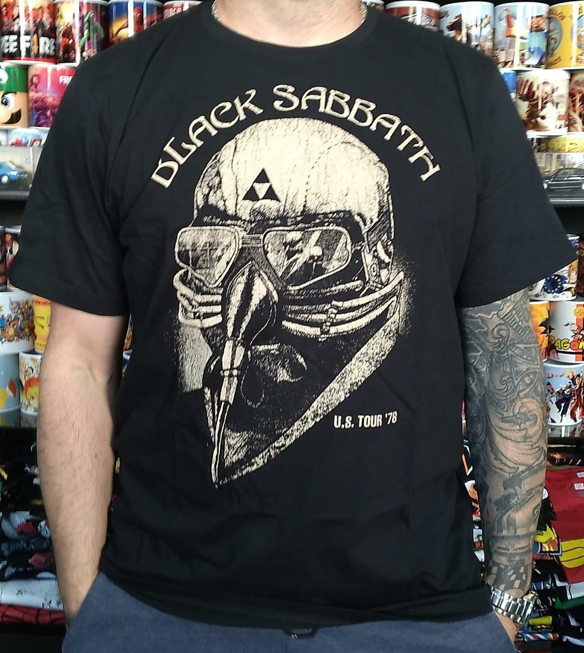 CAMISETA BLACK SABBATH TOUR'78 BOMBER