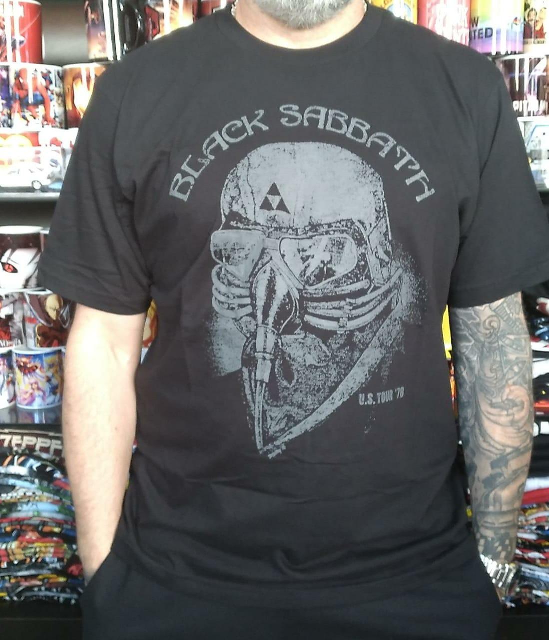 CAMISETA BLACK SABBATH TOUR'78