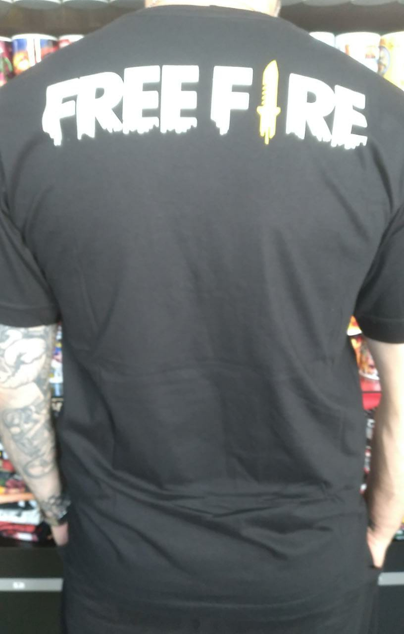CAMISETA FREE FIRE 3