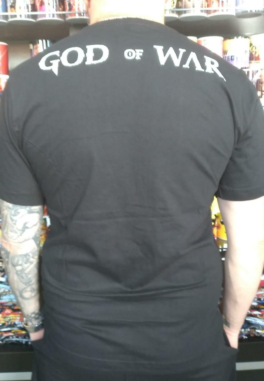 CAMISETA GOD OF WAR FACE