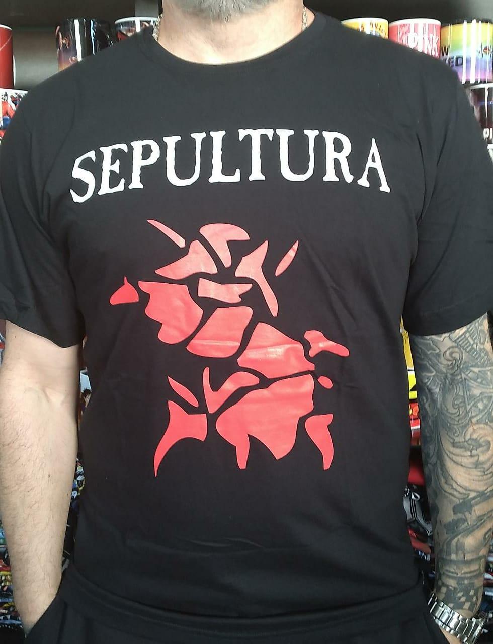 CAMISETA SEPULTURA