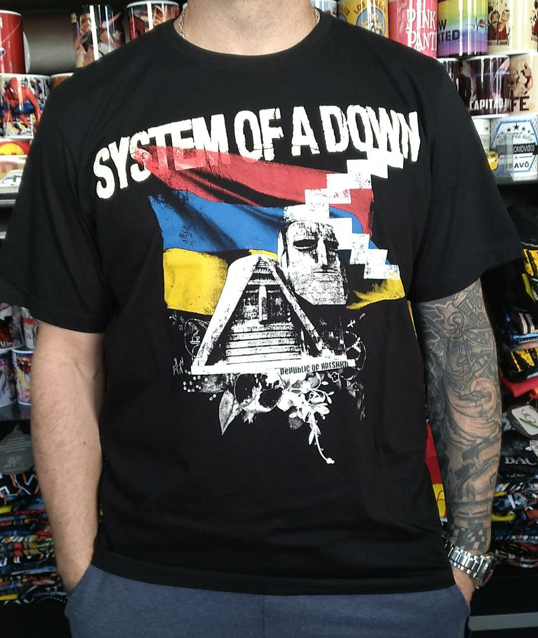 CAMISETA SYSTEM OF DOWN