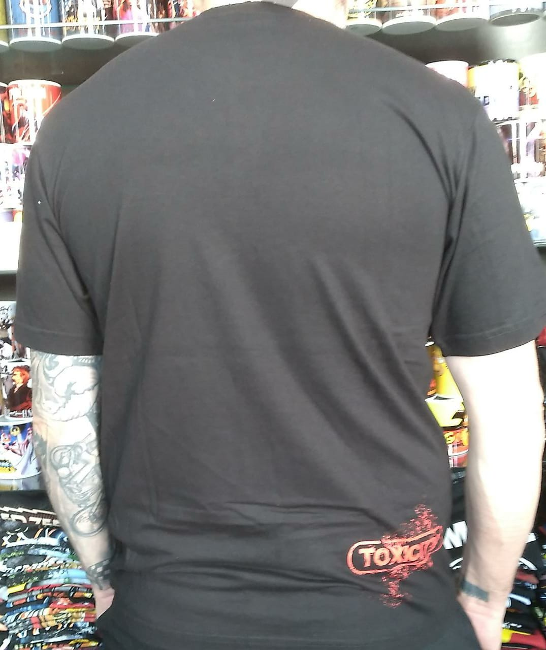CAMISETA SYSTEM OF DOWN TOXICITY