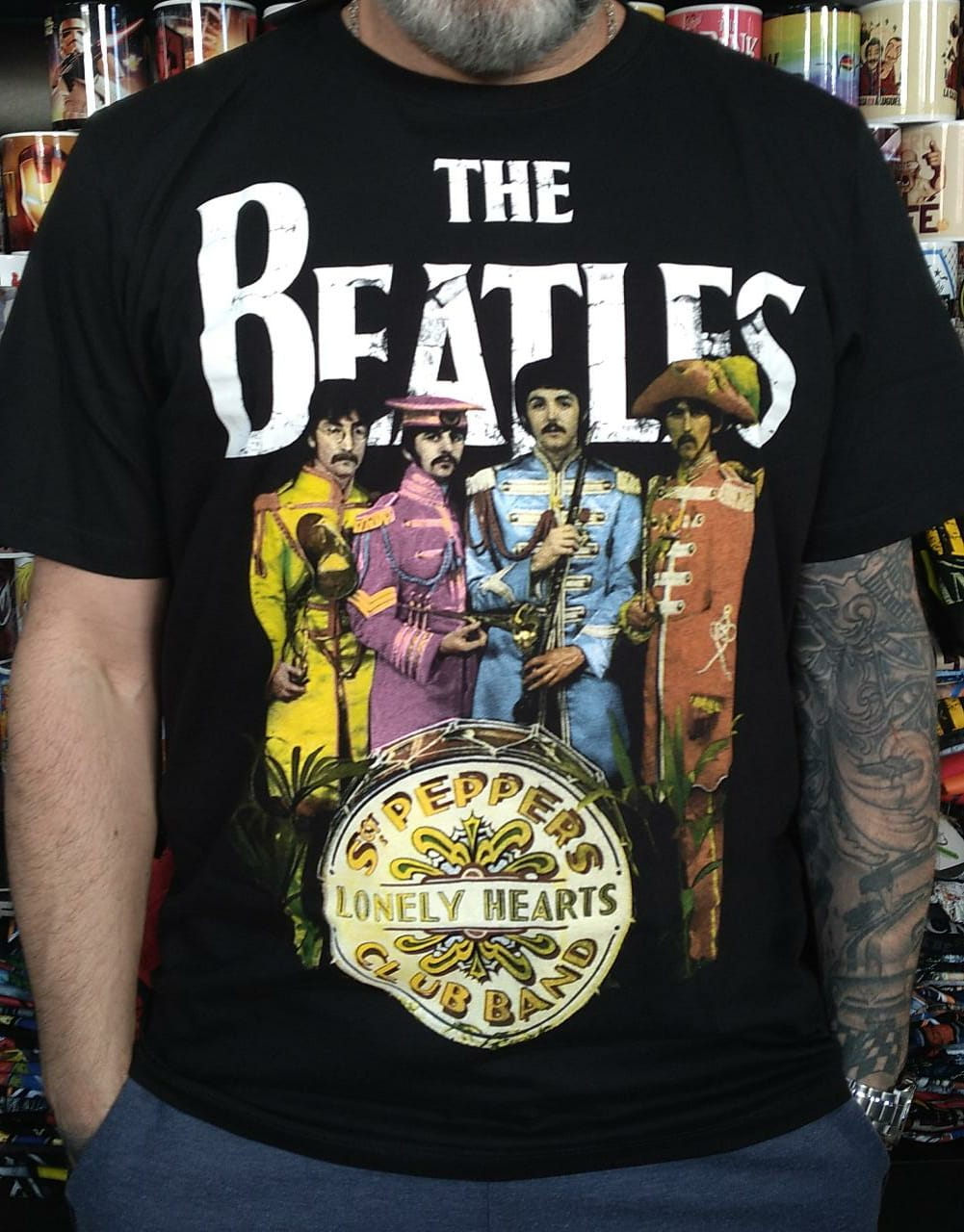 CAMISETA THE BEATLES ST. PEPPERS