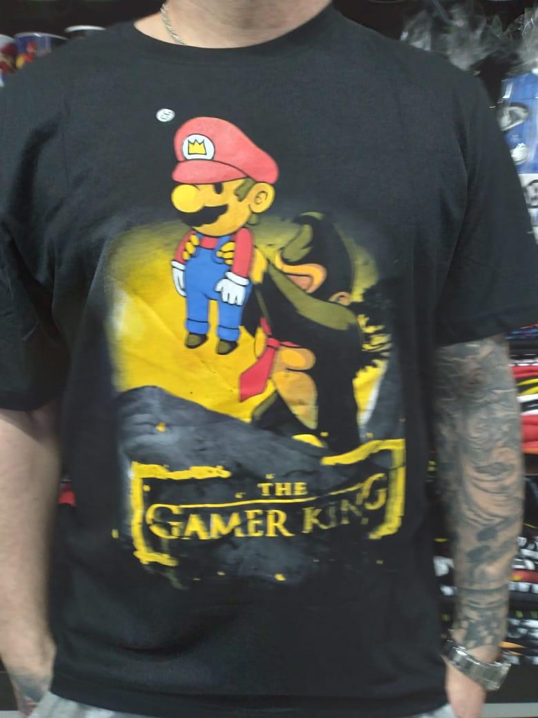 CAMISETA THE GAMER KING