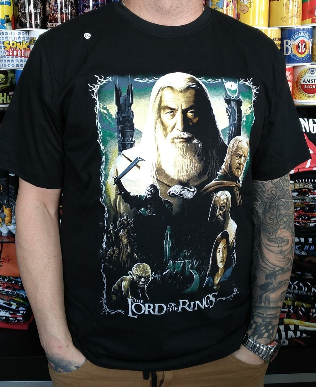 CAMISETA THE LORDS OF THE RINGS