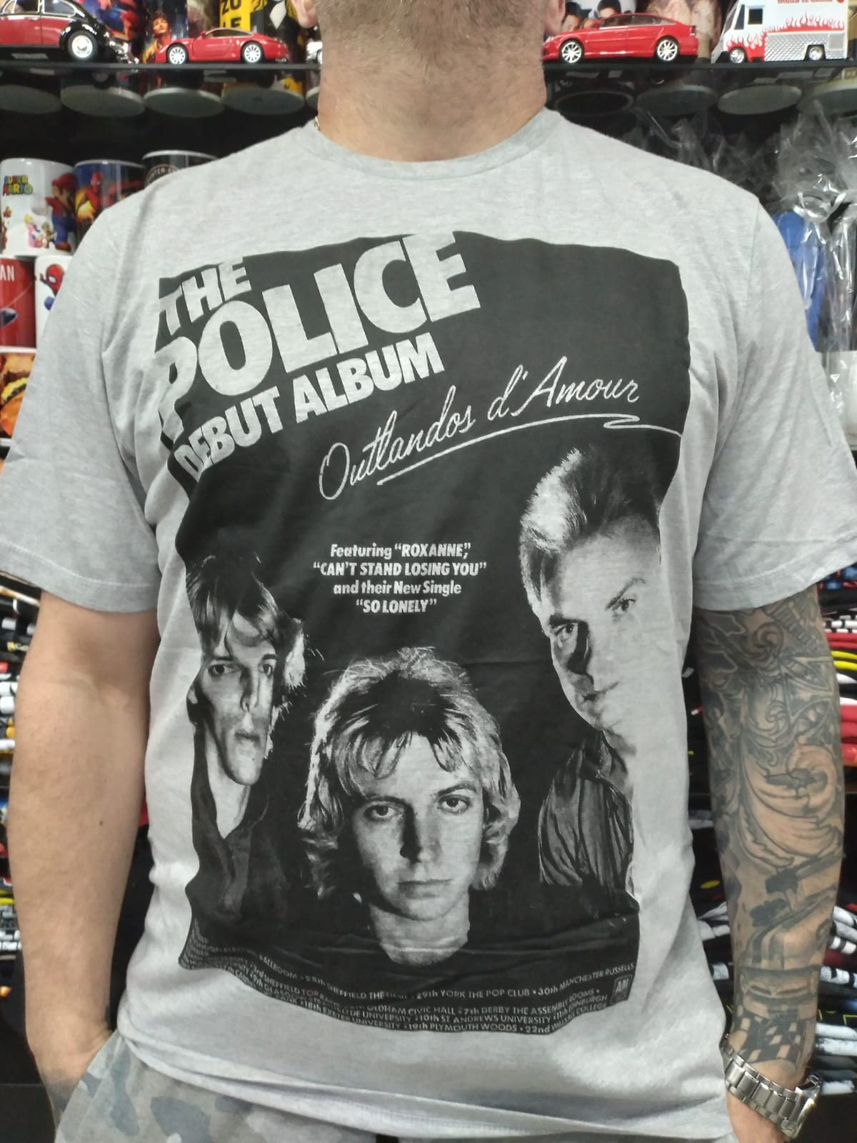CAMISETA THE POLICE DEBUT