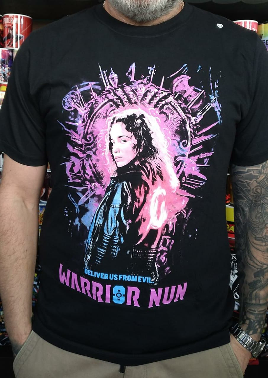 CAMISETA WARRIOR NUN