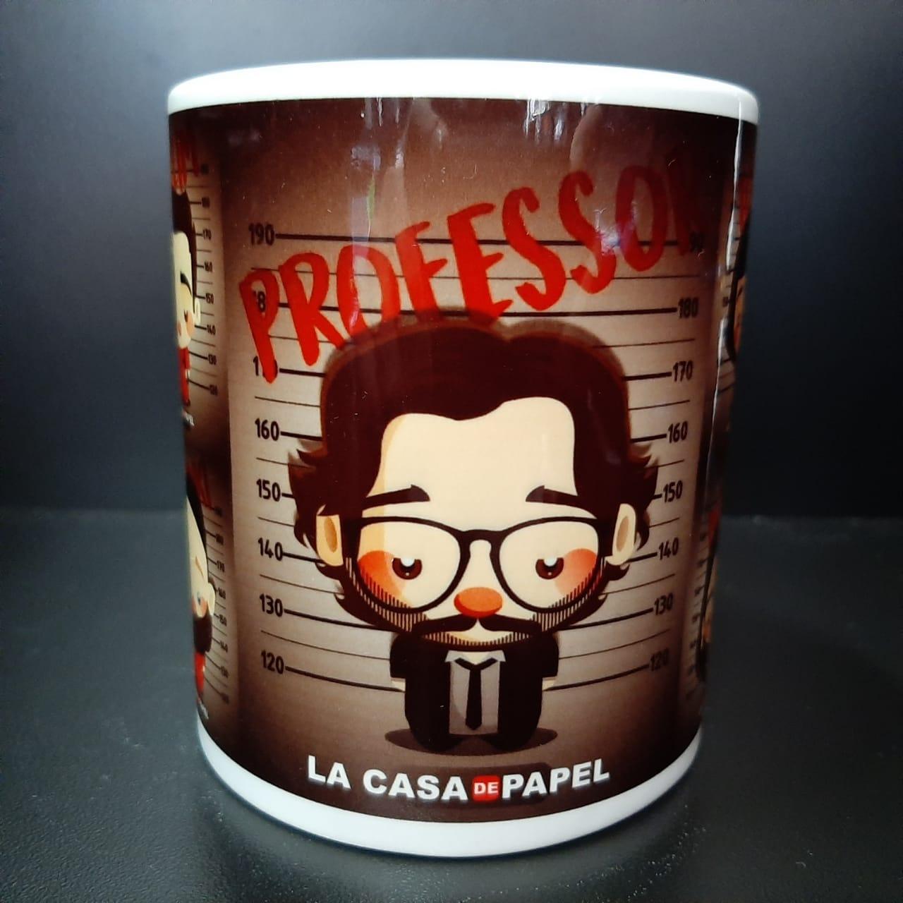 CANECA LA CASA DE PAPEL