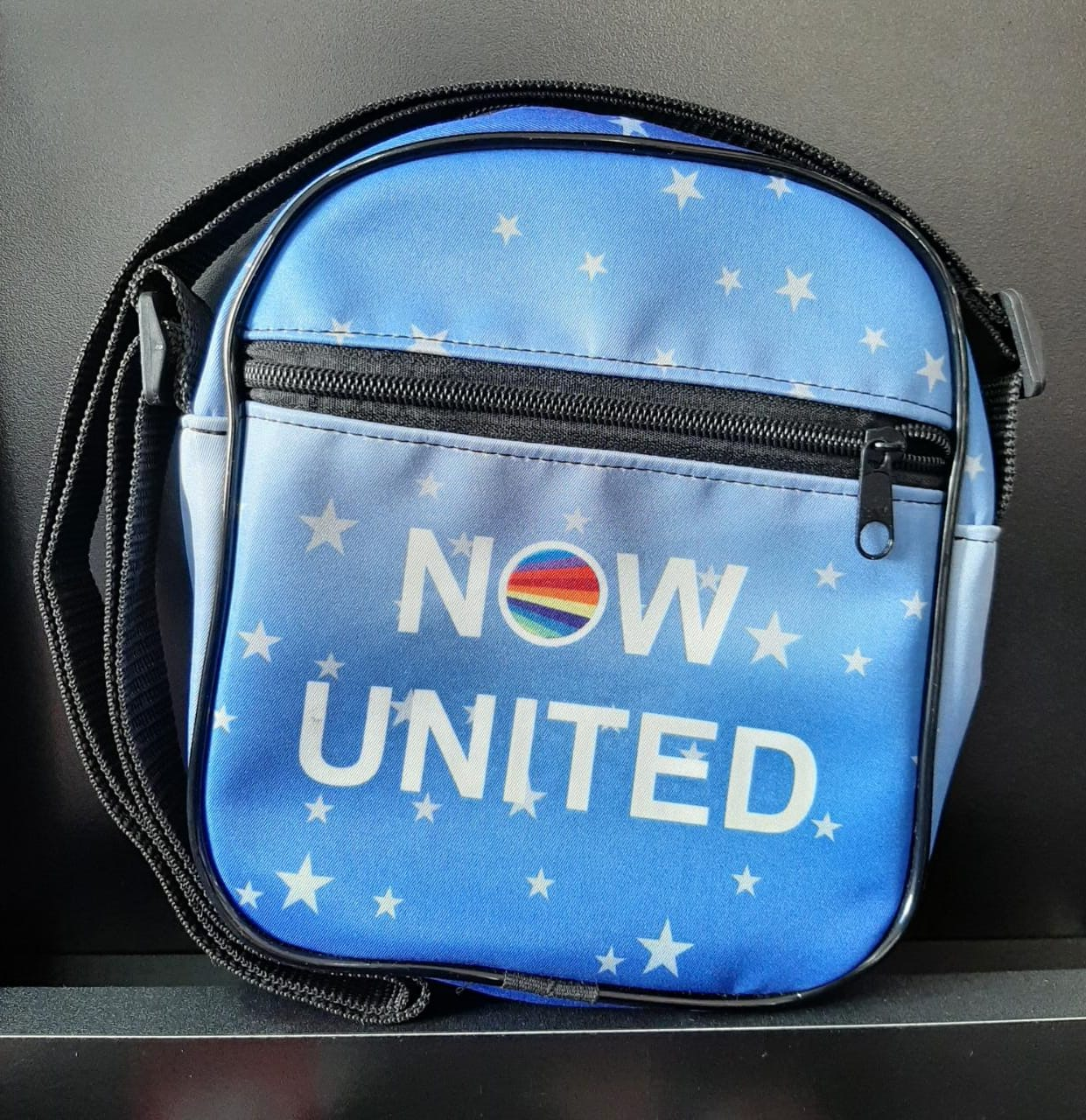 SHOULDER BAG NOW UNITED AZUL