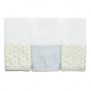 Kit toalha de boca em fralda Elefantinho