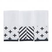 Kit toalha de boca em fralda Nórdico