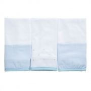 Kit toalha de boca em malha Classic Azul