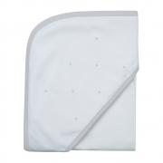 Toalha de banho em fralda Classic cinza