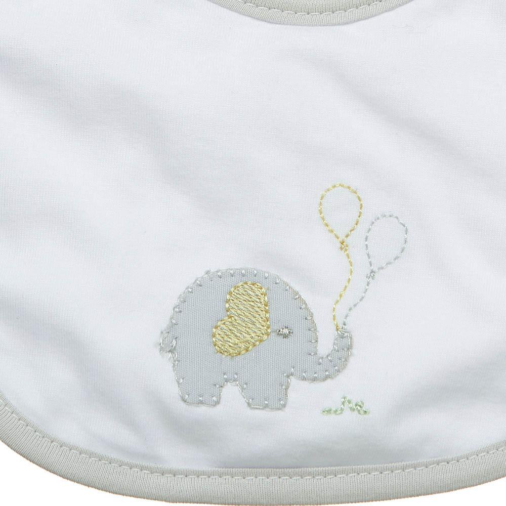 Babeiro impermeável Elefantinho
