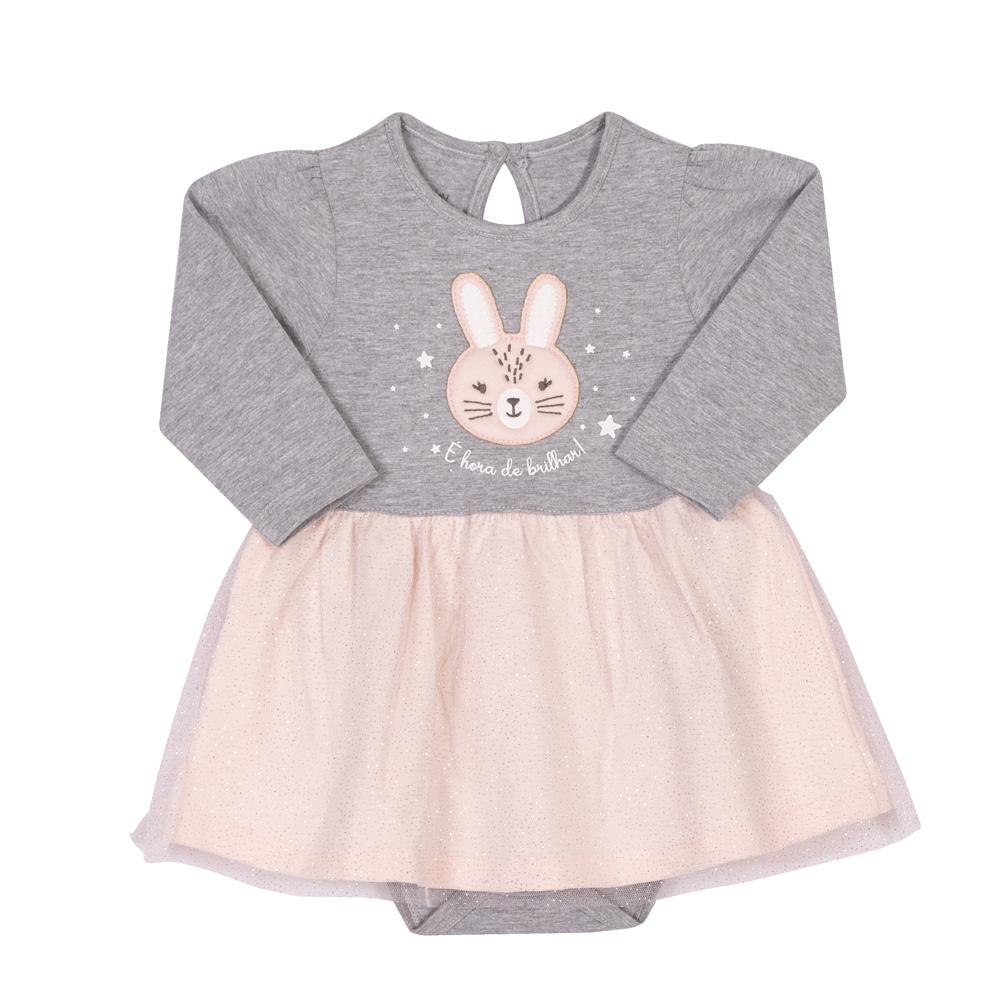 Body vestido bunny