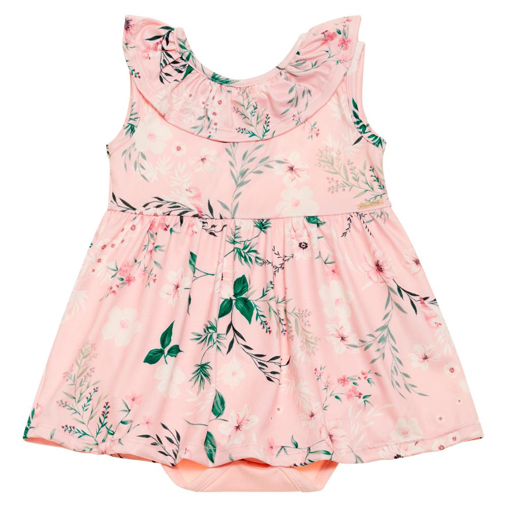 Body vestido flora