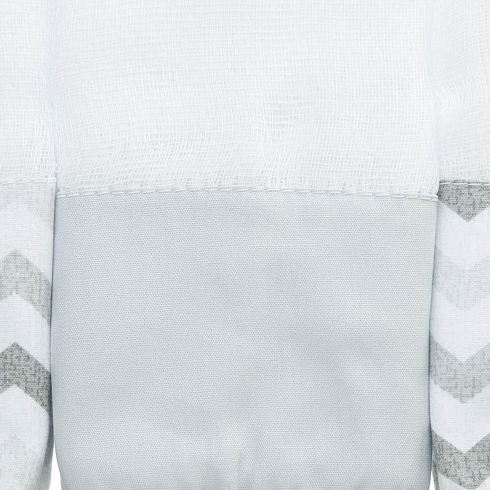 Kit toalha de boca em fralda Nuvem