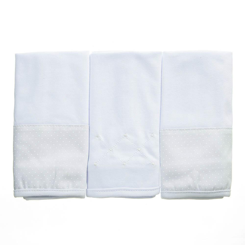 Kit toalha de boca em malha Classic Branco