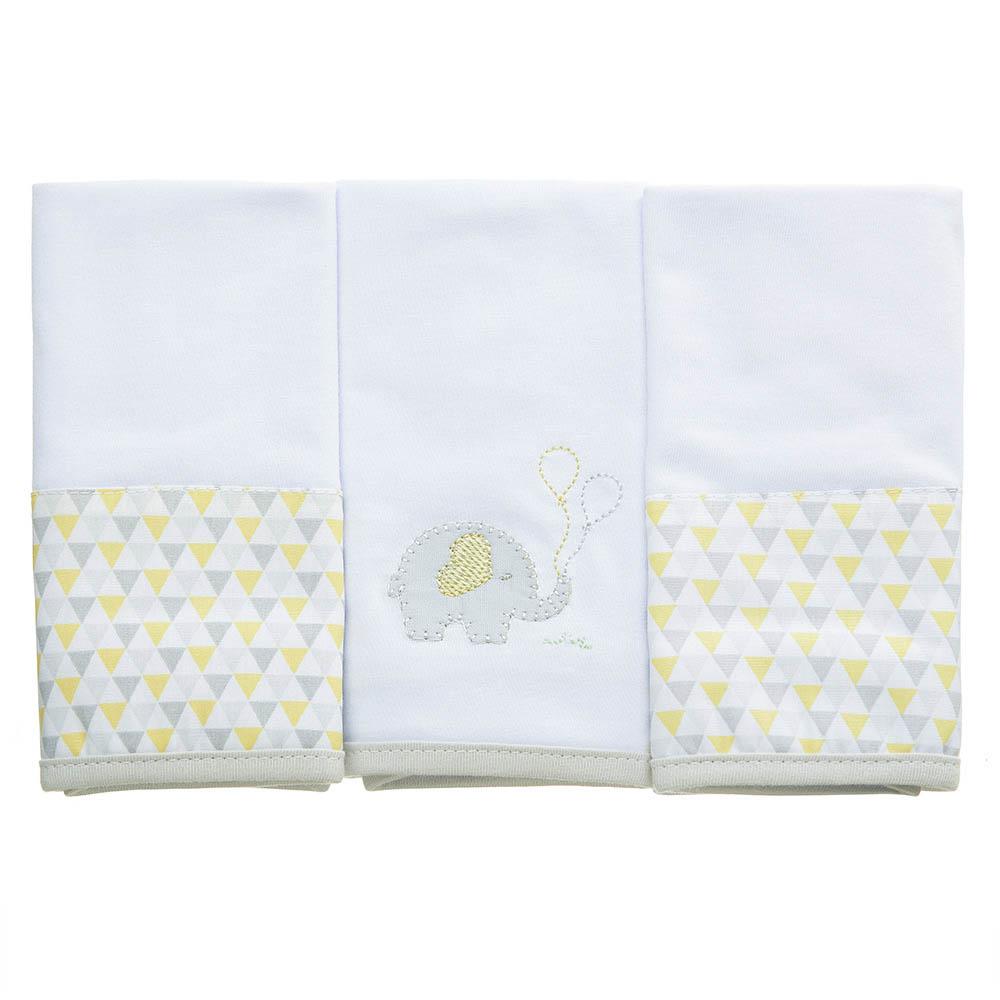 Kit toalha de boca em malha Elefantinho
