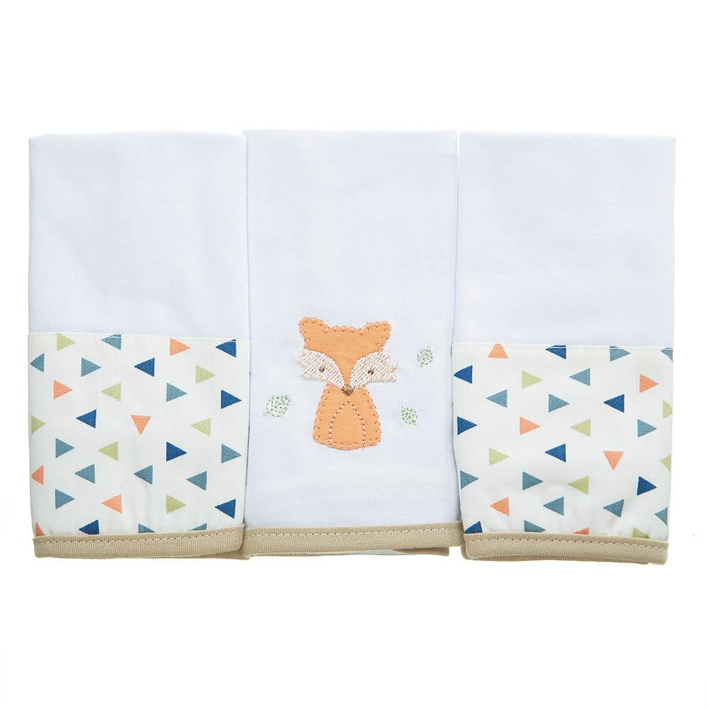 Kit toalha de boca em malha Floresta