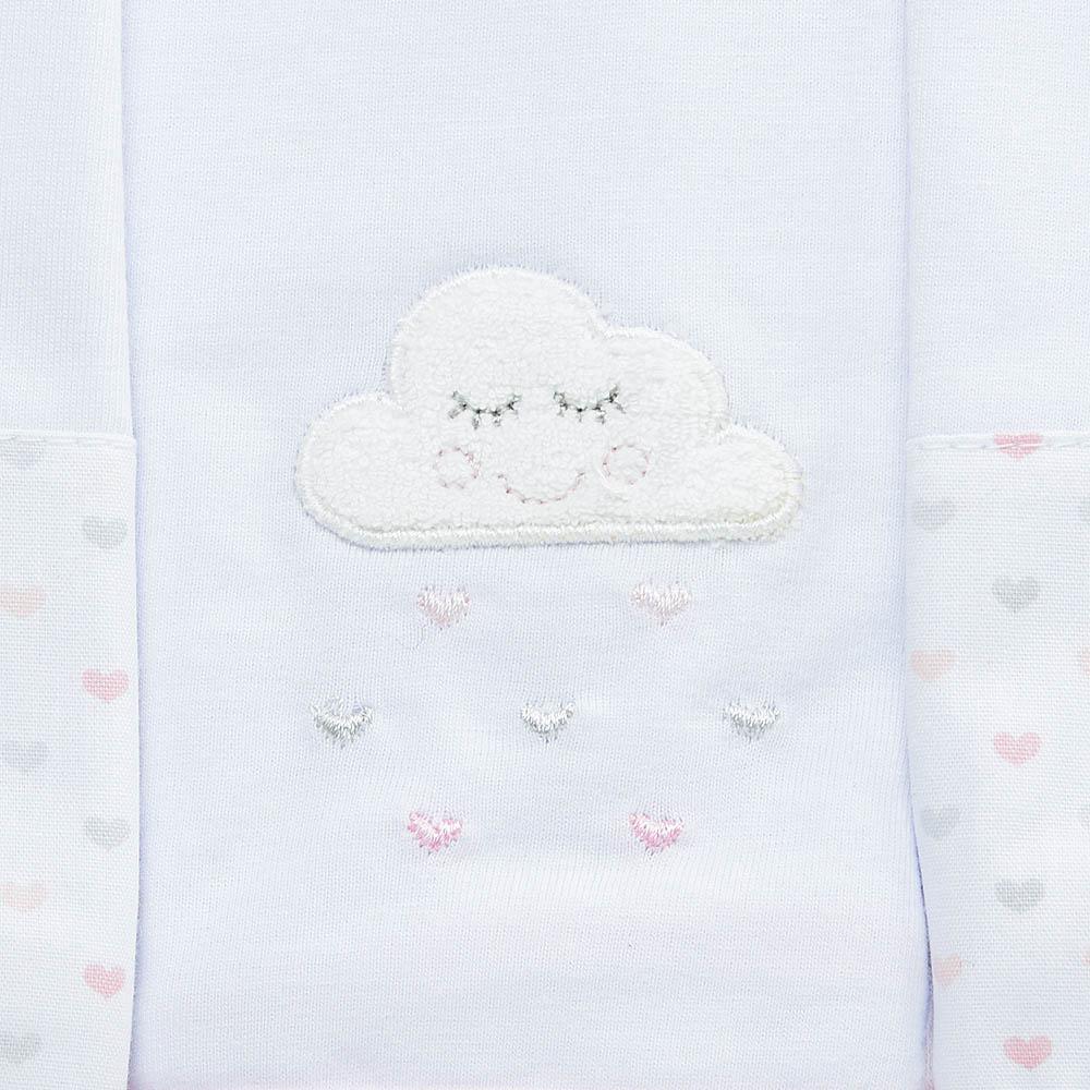 Kit toalha de boca em malha Nuvem
