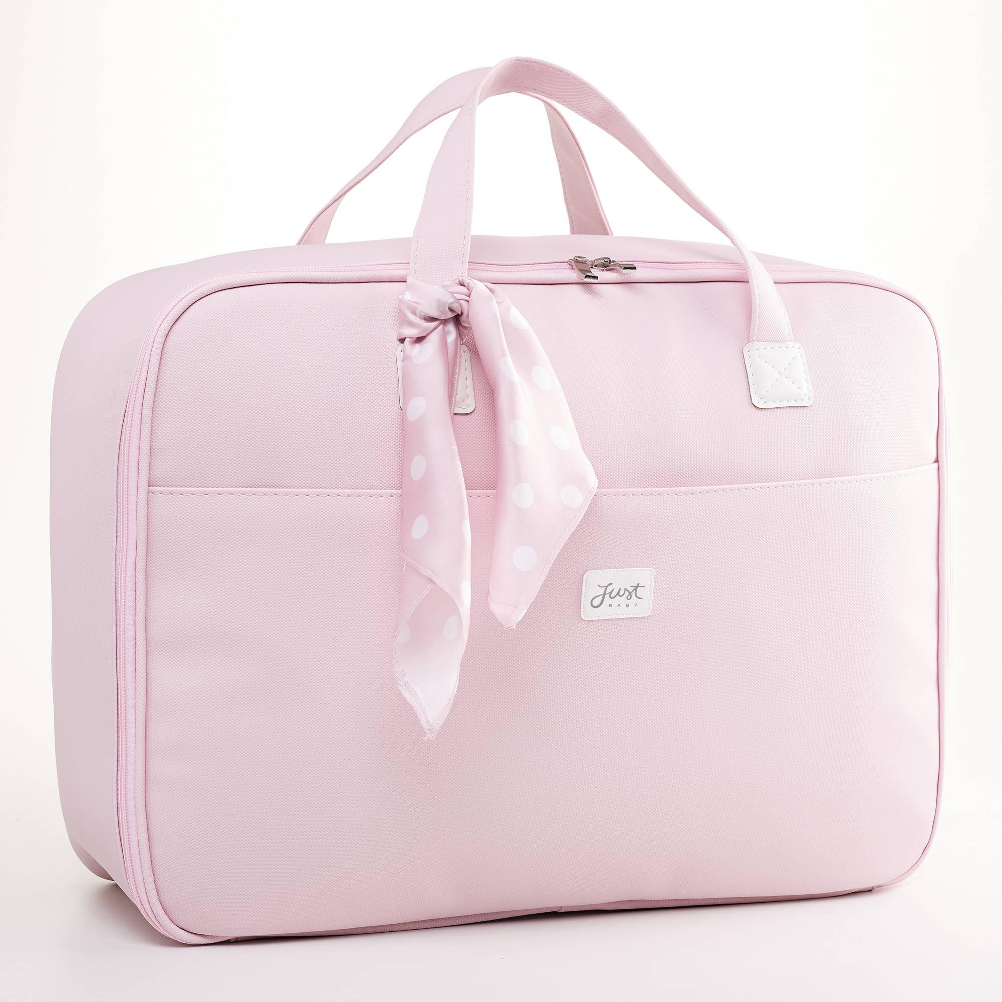 Mala maternidade candy rosa