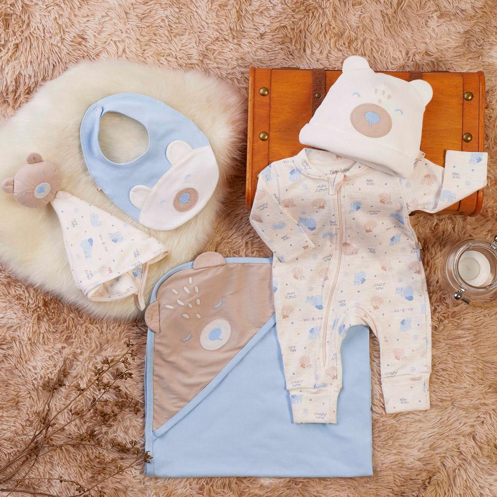 Saída maternidade urso