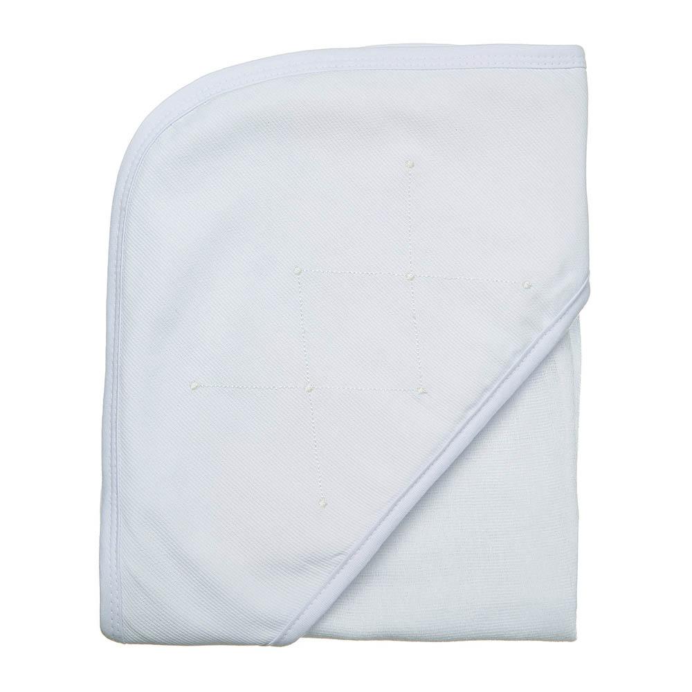 Toalha de banho em fralda Classic branco