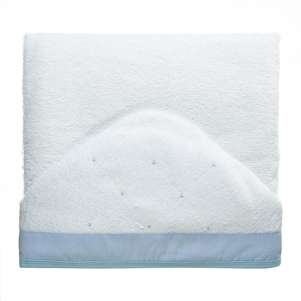 Toalha de banho felpuda Classic Azul
