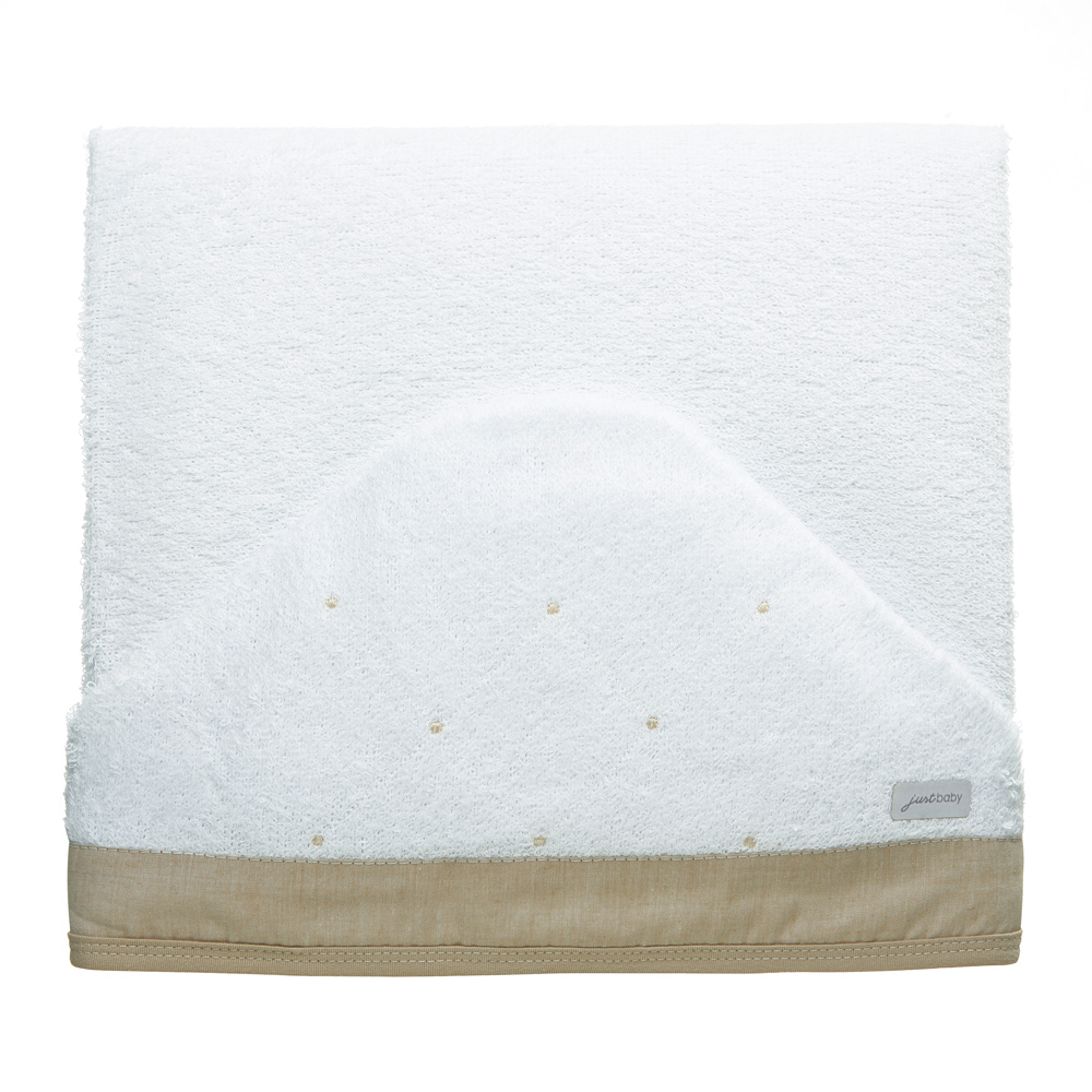 Toalha de banho felpuda Classic Bege