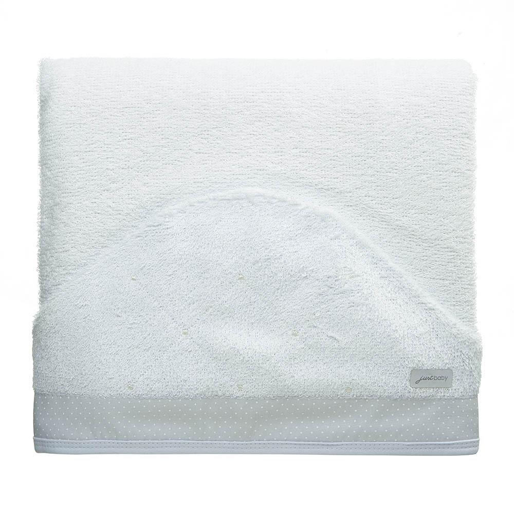 Toalha de banho felpuda Classic Branco